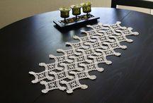 Crochet Table Runners / by Lisa Eckhoff