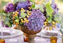 fresh flowers, succulents, plants & arrangement / by Sandy Sherman