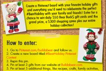 #BearHoliday Pinterest Contest / by Written By Mama