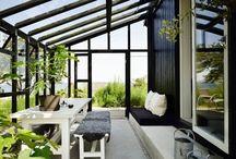 Design Ideas - Greenhouse/Conservatory/Sunroom / by Jennifer Jackson