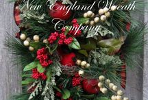 Christmas / Christmas-themed floral arrangements, wreaths, decor. / by Klehm Arboretum & Botanic Garden