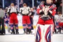 Hockey Goaltenders.....love them!  / by Ashleigh O'Donnell