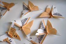 ORIGAMI / こんな折り方、あんな折り方。海外の折り紙作家のセンスの良い作品には、感心することがしばしば。でも、肝心なのは、ここでストックしておいて、あとは、すっかり忘れていることがないように、手を動かして、どんどん作って行くこと。アタマとゆびが要。 / by Aremo Koremo