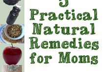 remedies/natural living / by Olivia Crowley