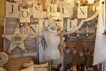 Booths & Vignettes / Ideas for my vintage mall booth / by Cheryl Fitzpatrick