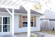 New backyard Jacuzzi Lounge / by Stefany Deroche