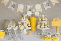 Yellow & Gray / by Navy & Lavender Weddings