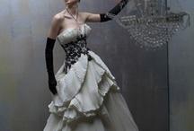 wedding embellished dresses / by Kathleen Frances