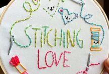 Needle point/ Cross stitch / by Sue Hale