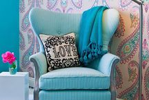 Wing back chairs / by Laura Johnson
