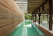 Rammed Earth. Digging Dirt! / Old Becomes New / by Nancy Weaver