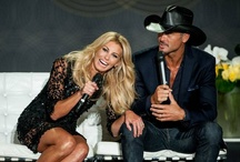 Tim and Faith / Country's Reigning Super Couple. Please Don't Let the Rumors Be True / by Kym Gould