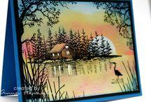 Stampscapes / by Nancy Olsen