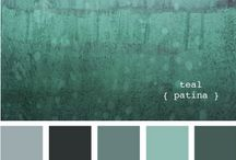 home - color palettes / by Katelyn Thompson