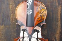 Painted instruments / by Anneliese Bates