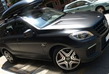 "Mercedes Benz ML AMG en Negro Mate ""Terminator"" Car Wrapping by Pronto Rotulo since 1993 / Vinilado integral del MBenz color original Negro Brillante a Negro Mate con detalles de origen metalizados llevados a Negro Mate en vinilo MacTac alta duración Wrap.  Pronto Rotulo con mas de 60.000 trabajos efectuados en 20 años! The home of Car Wrap since 1993!  + info en prontorotulo.com/ + info en facebook.com/prontorotulo + info en twitter.com/prontorotulo + info en youtube.com/prontorotulo / by Pronto Rotulo"