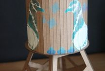 Paper projects / Art projects using paper, beautiful paper, handmade paper items, PAPER! / by Ed Roth / Stencil1