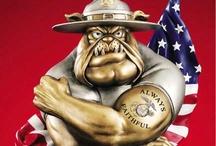 Ooh-Rah, Marine Corps! / by Donna Cashion