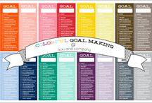 organization/goals / by Kelleen Thornock