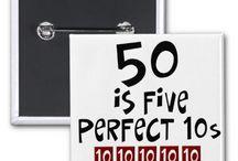 50th birthday ideas / by Joanna Snow
