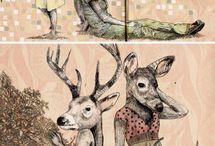 illustrations / by Kertész Rita