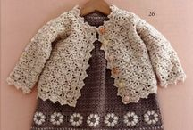 Crochet for baby / Baby outfits, sweaters, dresses, booties and bibs for boys and girls. / by Amy Smith
