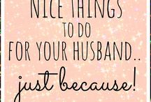 Husbands/Marriage / by Beverly Cornell