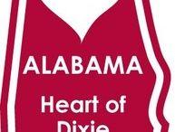 My Sweet Home Alabama / Where I was Born and Where I'll Die / by Karen Brooks