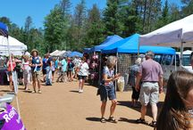 St. Germain Flea Market / Held from 8:00 AM to 3:00 PM at the St. Germain Community Park every Monday (Memorial Day through Labor Day) rain or shine. Presented by the St. Germain Fire Department Auxiliary. / by St. Germain Area Chamber of Commerce, Inc.