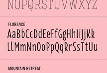 FREE FONT PRINTABLES-IN all styles / by Julie Eckert