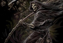 SKELETONS, SKULLS and the REAPER / by Daryl King