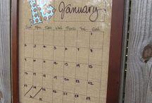 Calendar ideas / by Susan Hallford Haase