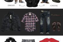 Guy Clothing Ideas / by Skye Devoe