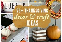 Thanksgiving / Thanksgiving crafts, decor, traditions, & ideas / by Marie {Blooming Homestead}