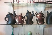TEA POTS / by Rebecca Raney