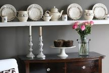 Shelves and walls / by Verbena Cottage
