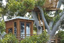 treehouse / escape house / by Jessica Jean Wagner