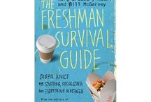 College survival book display-September 2014 / You can find this display at the main floor of CCL! / by Carlyle Campbell Library