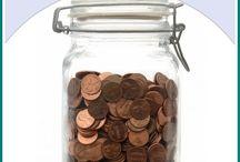 Save money / by Nicole Amundrud