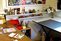 Studio Space / by Michelle Miles