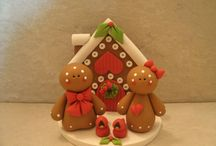 Gingerbread men, woman & houses / by Julie Maloy