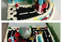 Mario Birthday theme / by Angela Barton