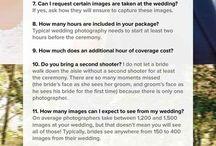 Wedding: Photography/Videography / by Candyce Bradbury
