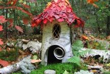 fairy houses & gnome homes / a person's a person,no matter how small  -Horton the elephant / by Shannon Titus