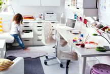 Craft room  / Storage, Display and more. www.babalubabyshop.com / by Erika @ Babalu Baby and Kids