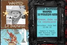 Western Cowboy Party Ideas / by Hollie McClintock