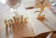 Wedding Table Numbers / by Weddingbells