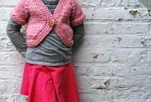 Children's knit sweater patterns / Fun knitting patterns for kids sweaters / by Ashley @ A Crafty House