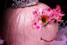 Breast cancer pumpkin / by Theresa Welborn