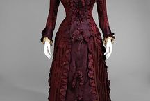 Victorian fashion & design - 1870s / by Kura Carpenter